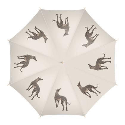 Victorian dog umbrella