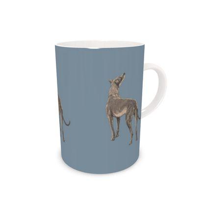 Victorian dog mug