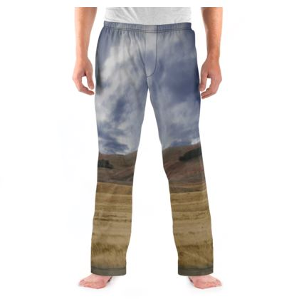 Men's Pyjama Bottoms - Savannah Wildlife