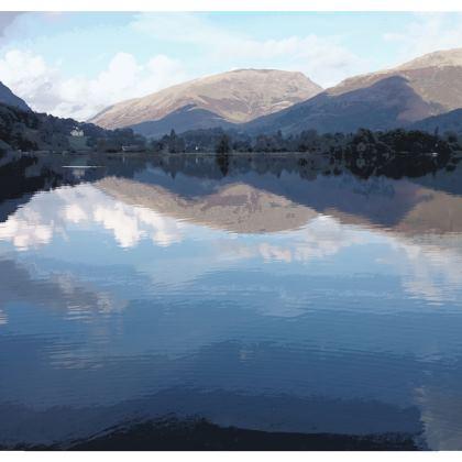 Kimono Jacket - Lake District