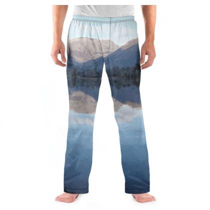 Men's Pyjama Bottoms - Lake District