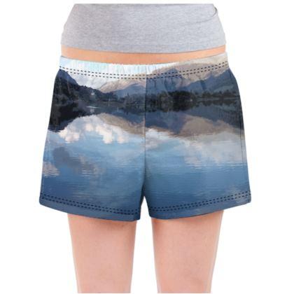 Ladies Pyjama Shorts - Lake District
