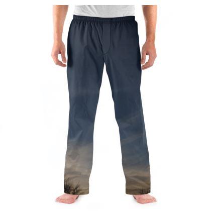 Men's Pyjama Bottoms - Low Sunset