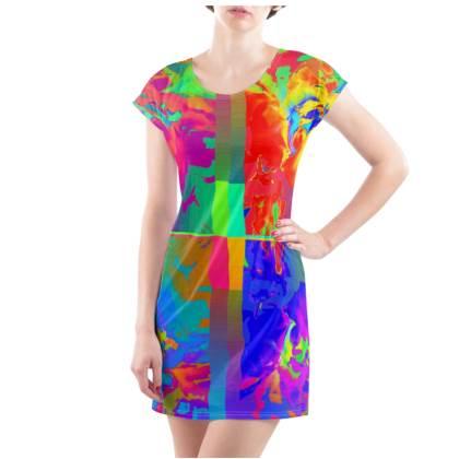 Brilliance T-Shirt Dress - UK Size 18/20 (XL)