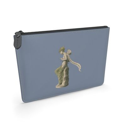 Psyche Victorian leather pouch