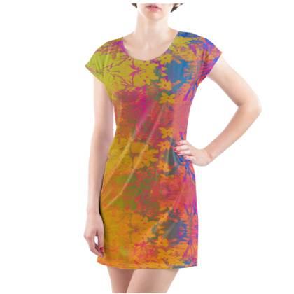 Sunset Shimmer T-Shirt Dress - UK Size 18/20 (XL)