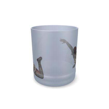 Victorian mermaid glass