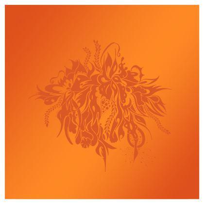 Skater dress - Skater Klänning - Ink Orange Summer Feeling Oranga