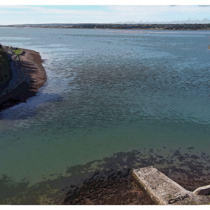 Kimono Jacket - Welsh Ocean