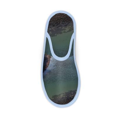 Slippers - Welsh Ocean