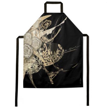 Apron - Förkläde - 50 Shades of Lace Black