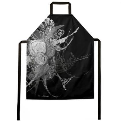 Apron - Förkläde - 50 Shades of Lace Grey Black