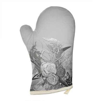 Oven Glove - Grytvante - 50 Shades of Lace Grey Gradient