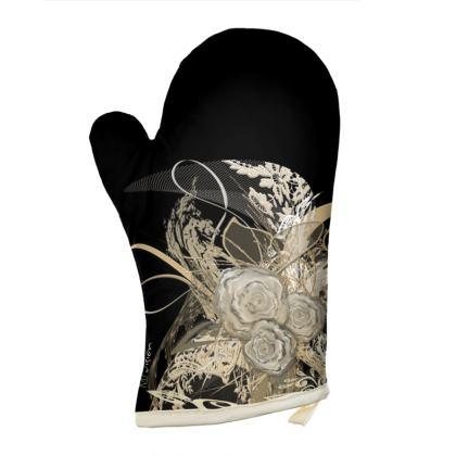 Oven Glove - Grytvante - 50 Shades of Lace Black