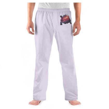 Men's Pyjama Bottoms - Tortoise Earth