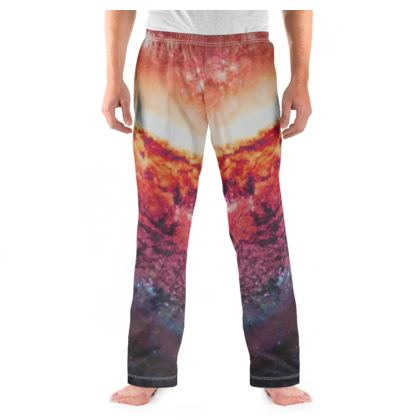 Men's Pyjama Bottoms - Tortoise Earth Full