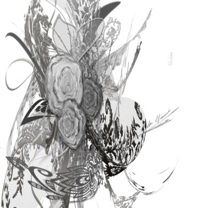 Small Trays - Små Brickor - 50 Shades of Lace Grey White