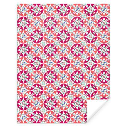 Gift Wrap Arabesque Pattern