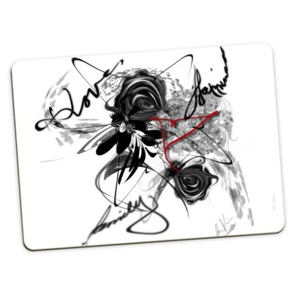 Large Placemats - Stora bordstabletter - Love Family Happiness