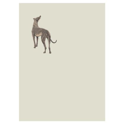 Victorian dog beige socks