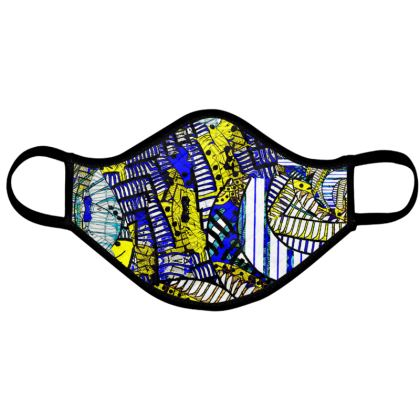 Wings of Death - Yellow peak - Face Mask