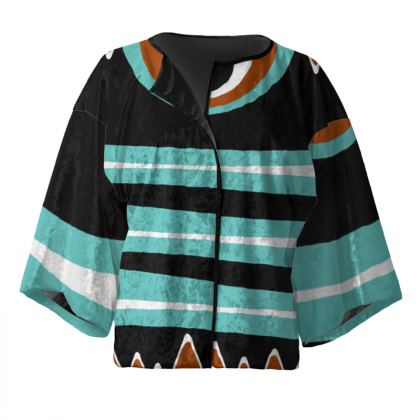 Kimono Jacket - Tribal