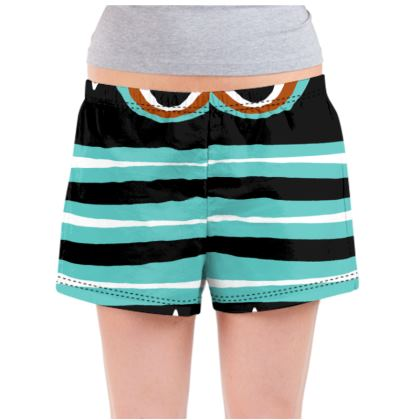 Ladies Pyjama Shorts - Tribal