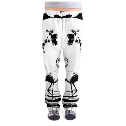 Ladies Pyjama Bottoms - Flamingo