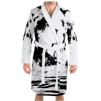 Dressing Gown - Flamingo
