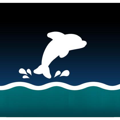 Kimono Jacket - Dolphin