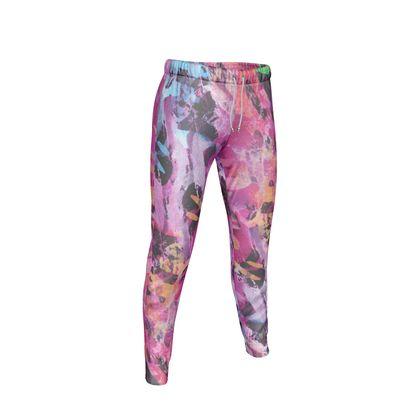 Womens Jogging Bottoms Watercolor Texture 7