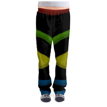 Ladies Pyjama Bottoms - Simple Colours (Black)