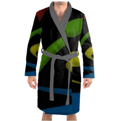 Dressing Gown - Simple Colours (Black)