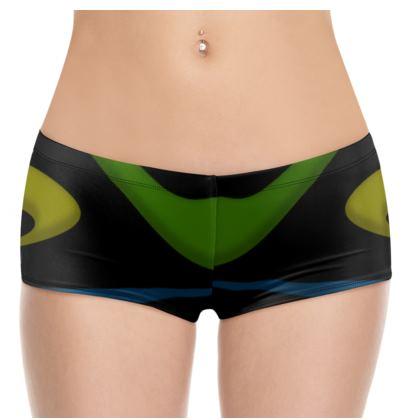 Hot Pants - Simple Colours (Black)