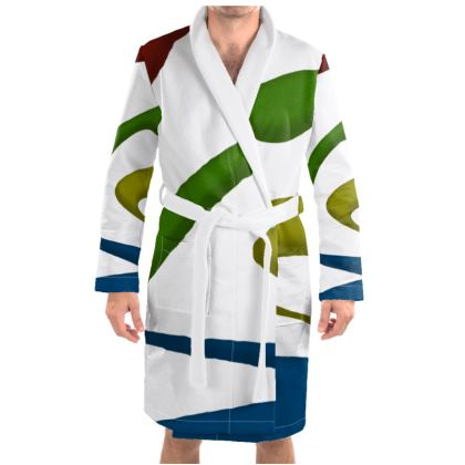 Dressing Gown - Simple Colours (White)