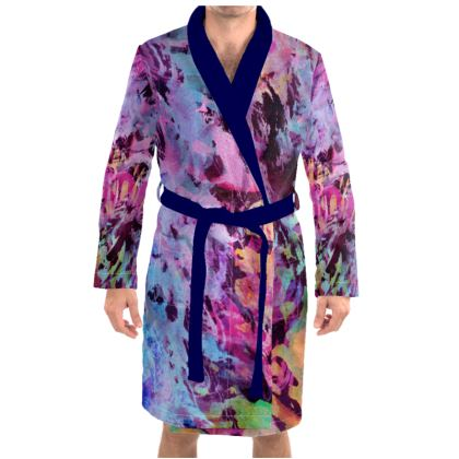 Dressing Gown Watercolor Texture 7
