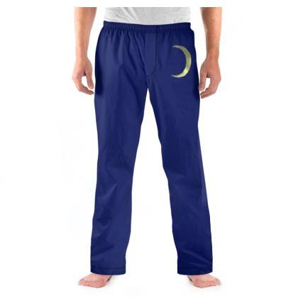 Men's Pyjama Bottoms - Vinyl Moon