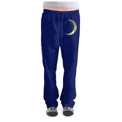 Ladies Pyjama Bottoms - Vinyl Moon