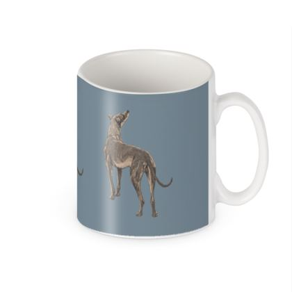 Victorian dog builder mug
