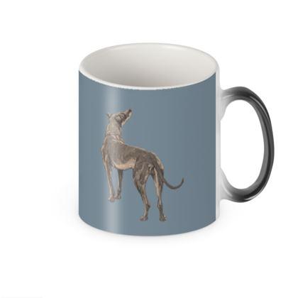 Victorian dog changing mug