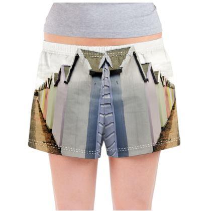 Ladies Pyjama Shorts - Beach Hut