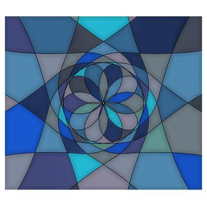 Kimono - Blue spiral