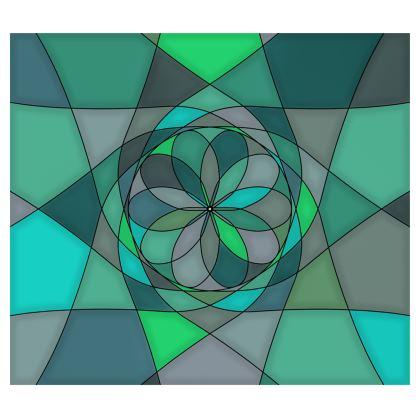 Kimono - Jade spiral