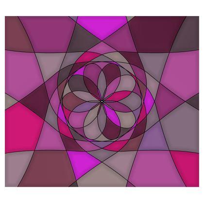Kimono - Pink spiral