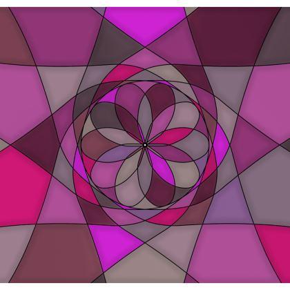 Socks - Pink spiral