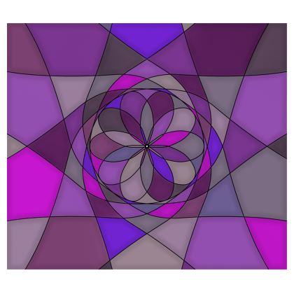 Kimono - Purple spiral