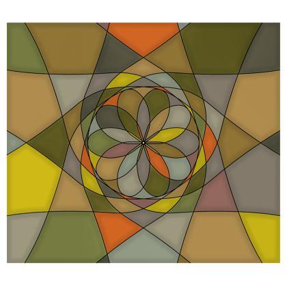 Kimono - Yellow Spiral