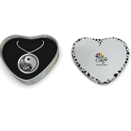 Yin Yang Sterling Silver Necklace