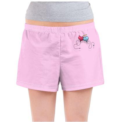 Ladies Pyjama Shorts - Opposite Attraction