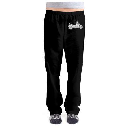 Ladies Pyjama Bottoms - Cruiser Sketch
